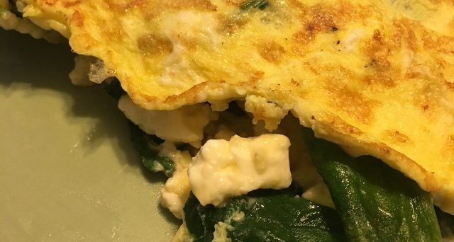 Spinach Feta Omelette Port City Foodie Restaurants