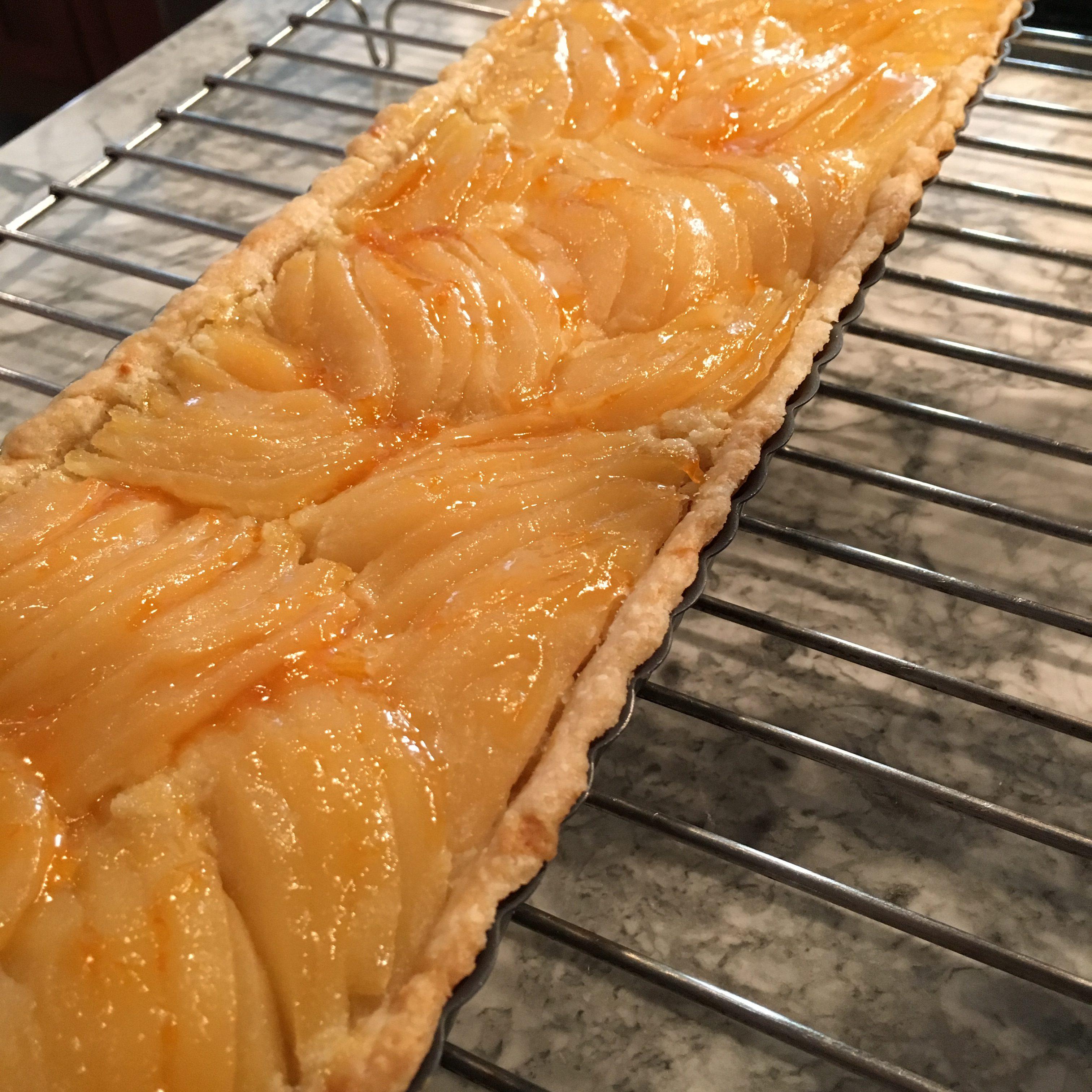 Kathy's Pear Almond Tart