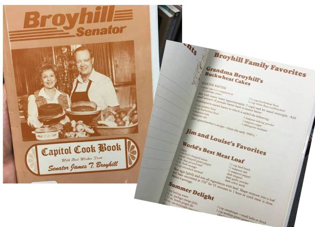 broyhill family cookbook