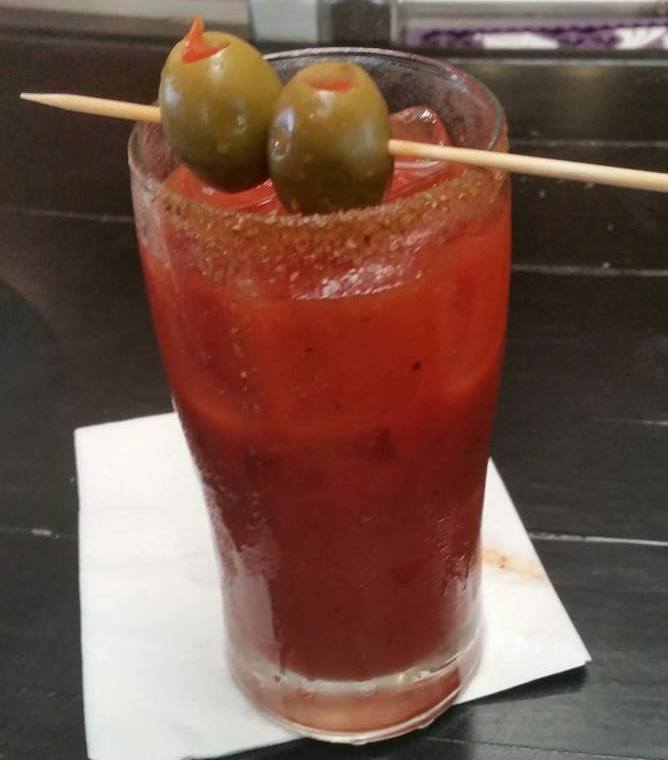 bloody mary in wilmington nc at hops supply