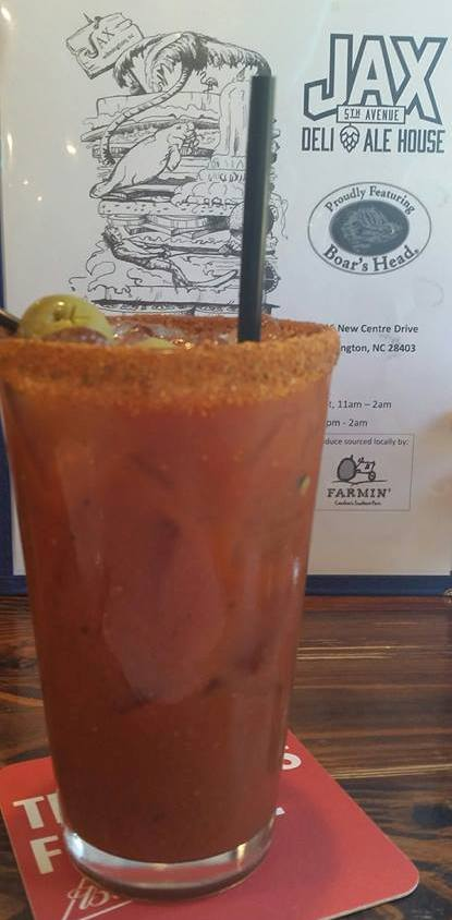 bloody mary in wilmington nc at jax