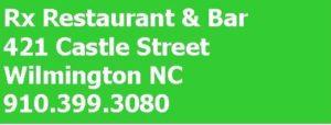 rx restaurant and bar