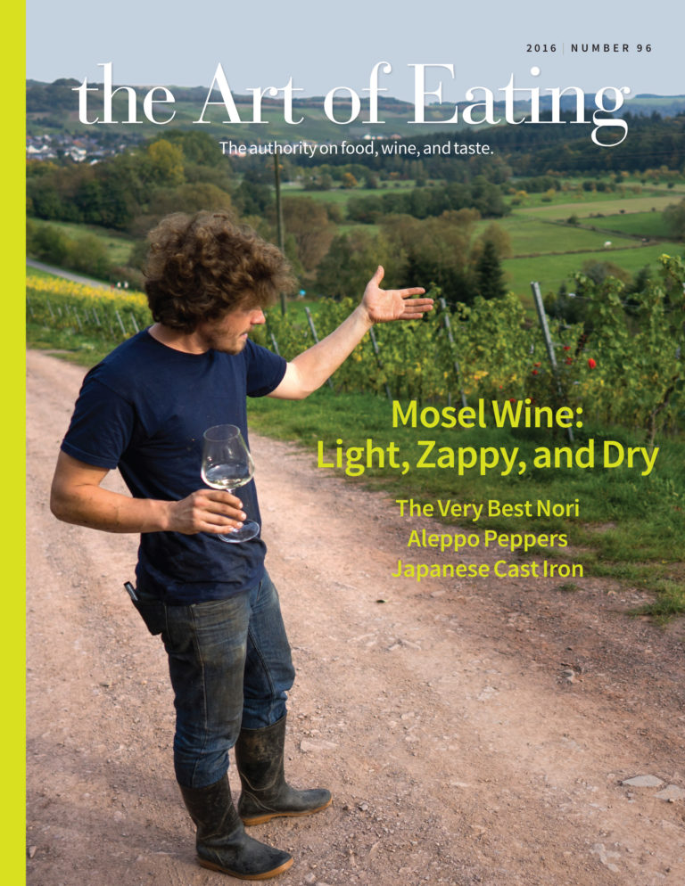 the art of eating magazine