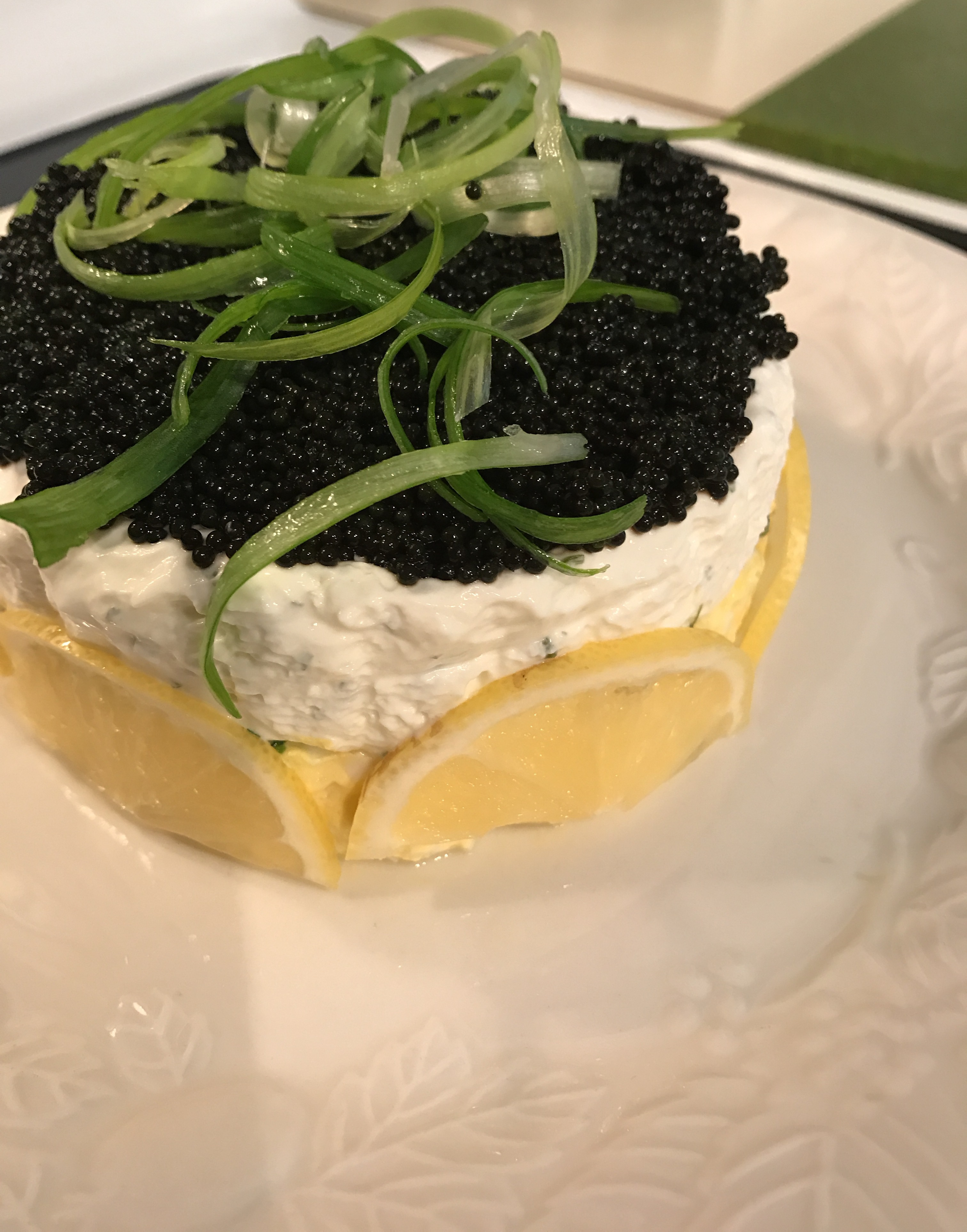 Caviar Pie – Fancy Appetizer with Caviar, Eggs and Cream Cheese