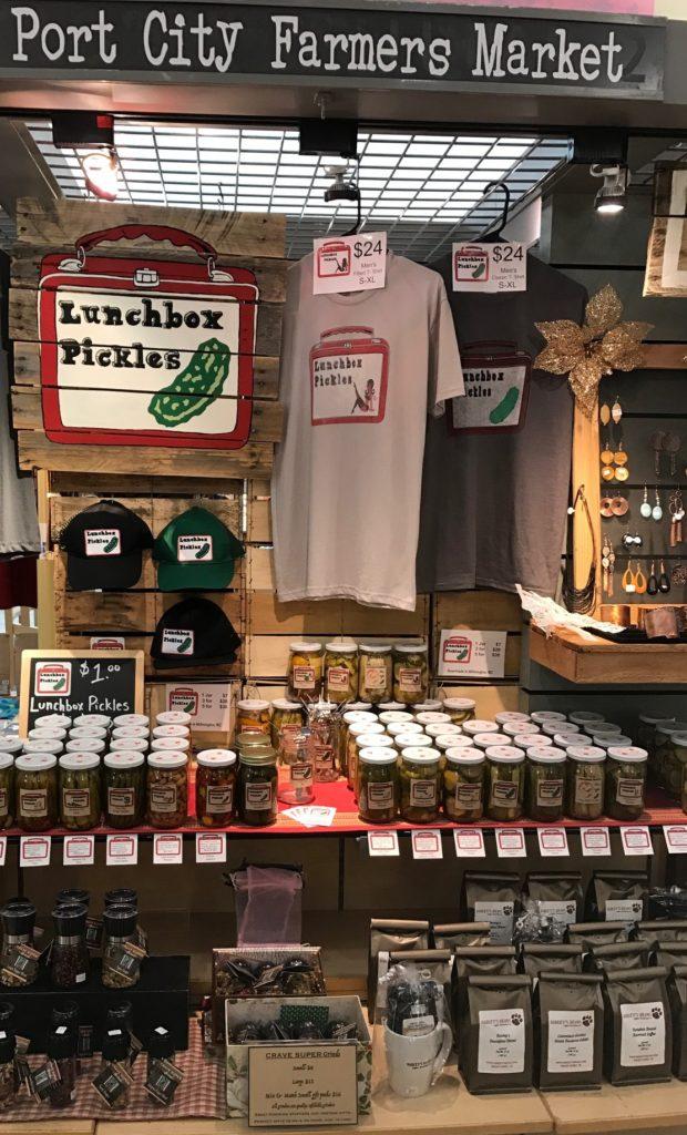 jules debord port city farmers market