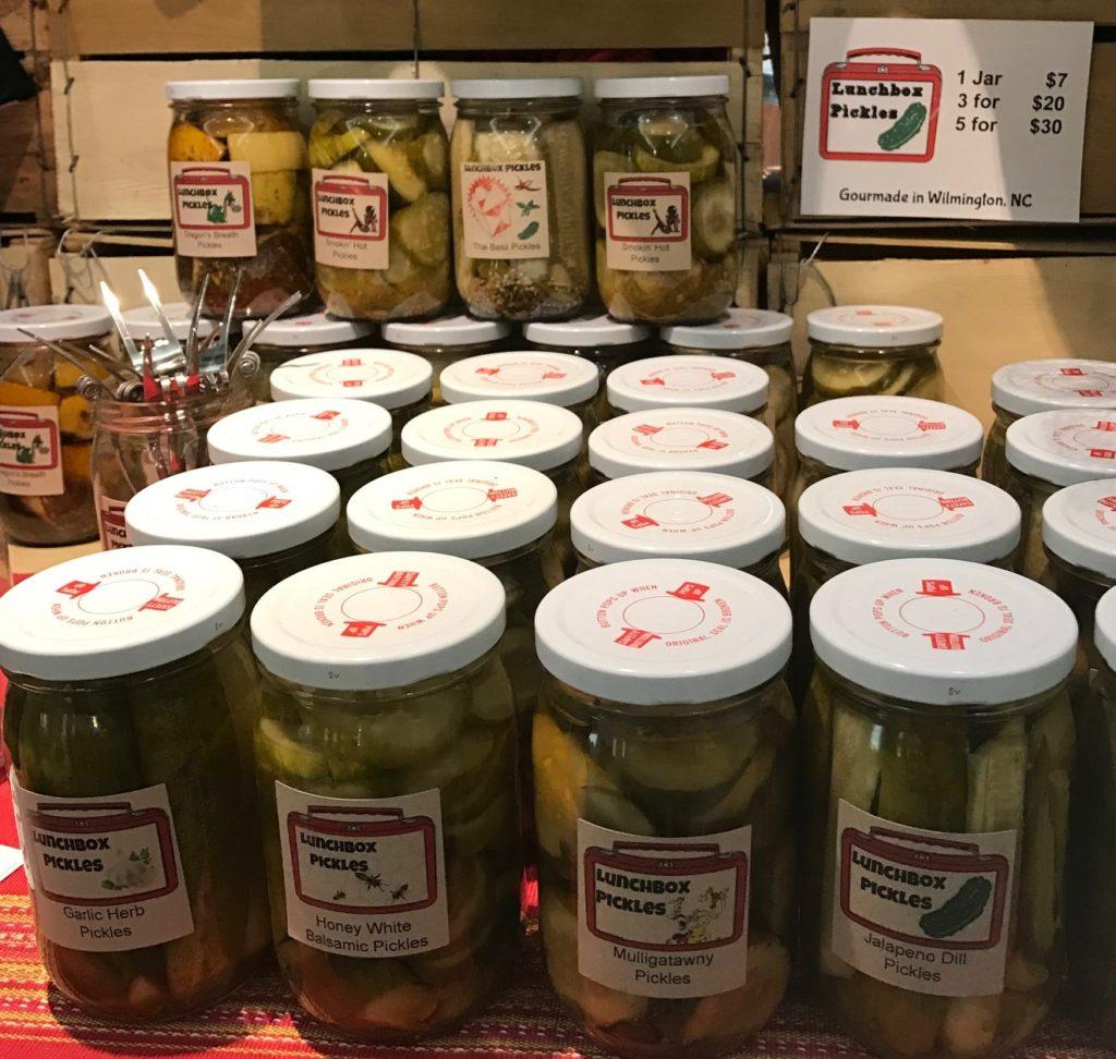 jules debord lunchbox pickles