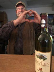 North Carolina wines at the Art Factory Wine Cellar - Port City Sweetheart Market
