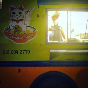ramen a go go food truck wilmington nc