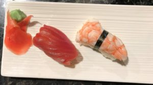 sushi with Madison Peirson at Yosake