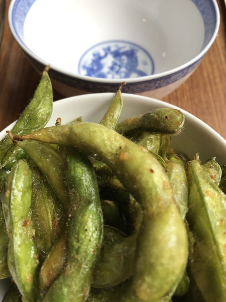 promised land kitchen flash fried edamame