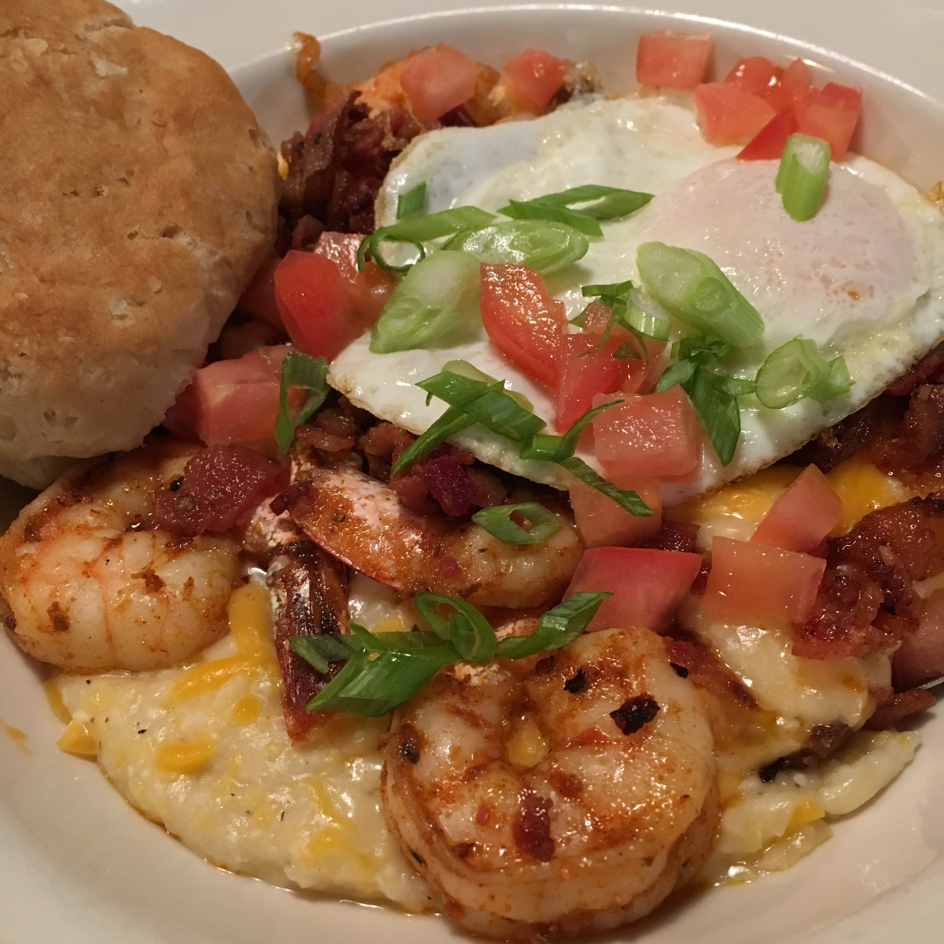 favorite north carolina foods shrimp and grits
