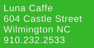 luna caffe wilmington nc