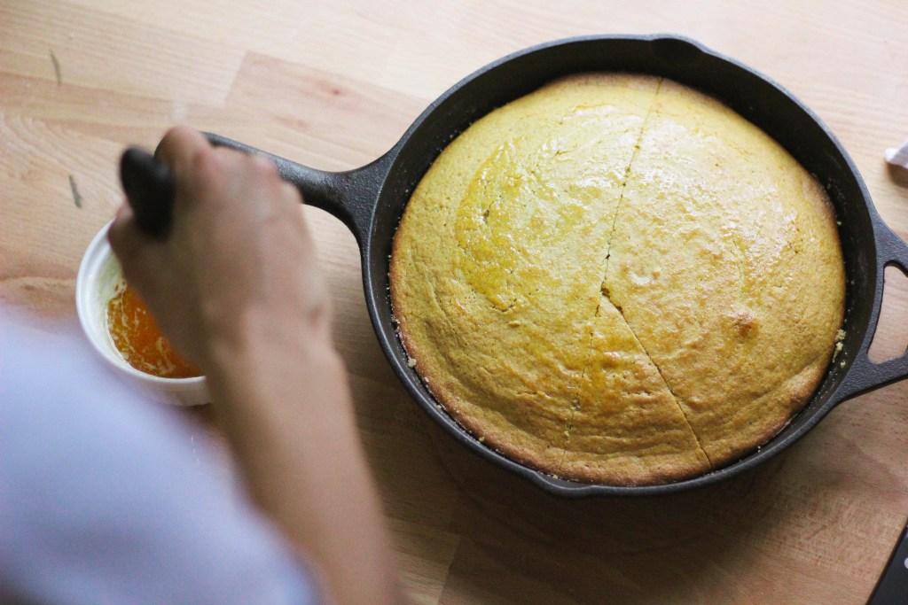 southern food blogs brown butter cornbread