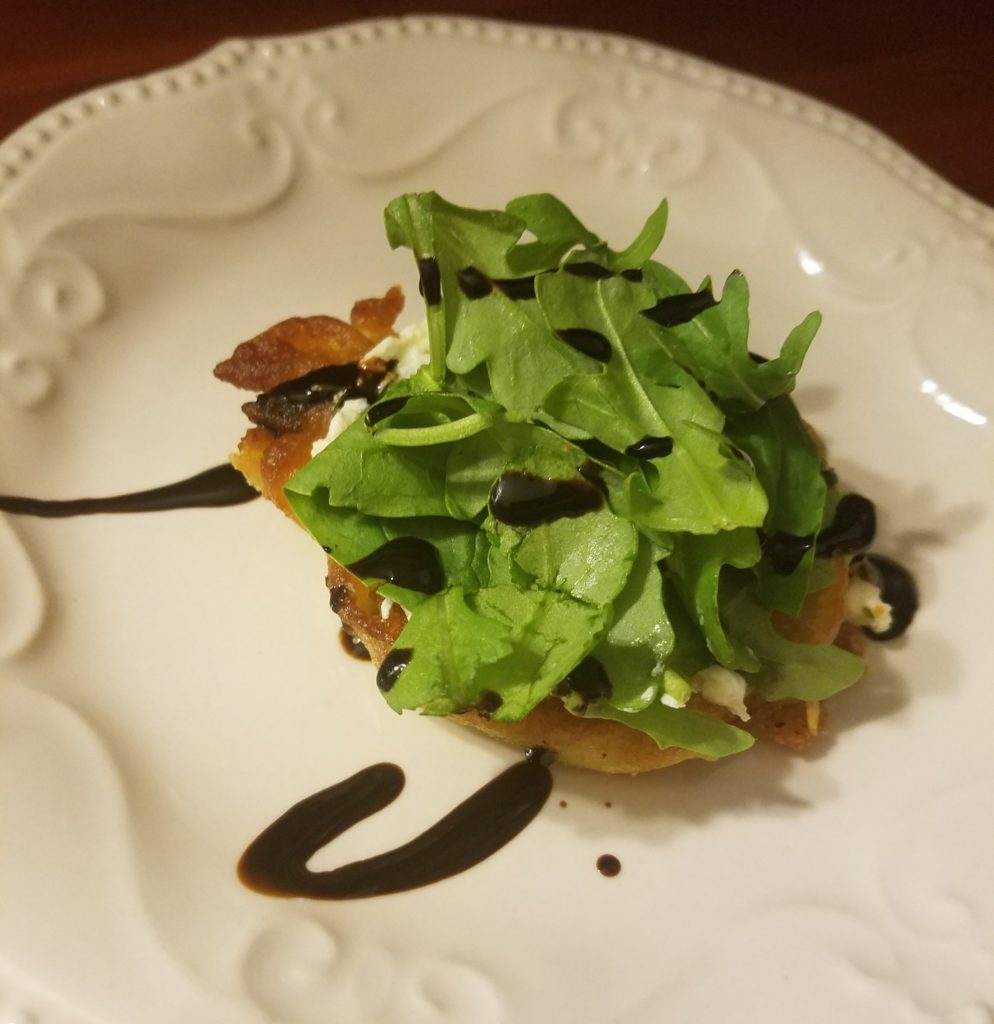 marinated goat cheese appetizer