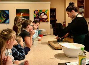 kids sushi class
