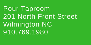 pour taproom wilmington nc address