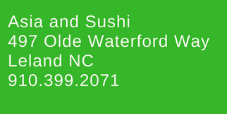 asia and sushi restaurant address