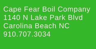 Cape Fear Boil Co address