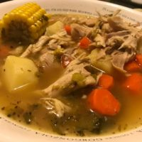 roasted chicken soup the verandas