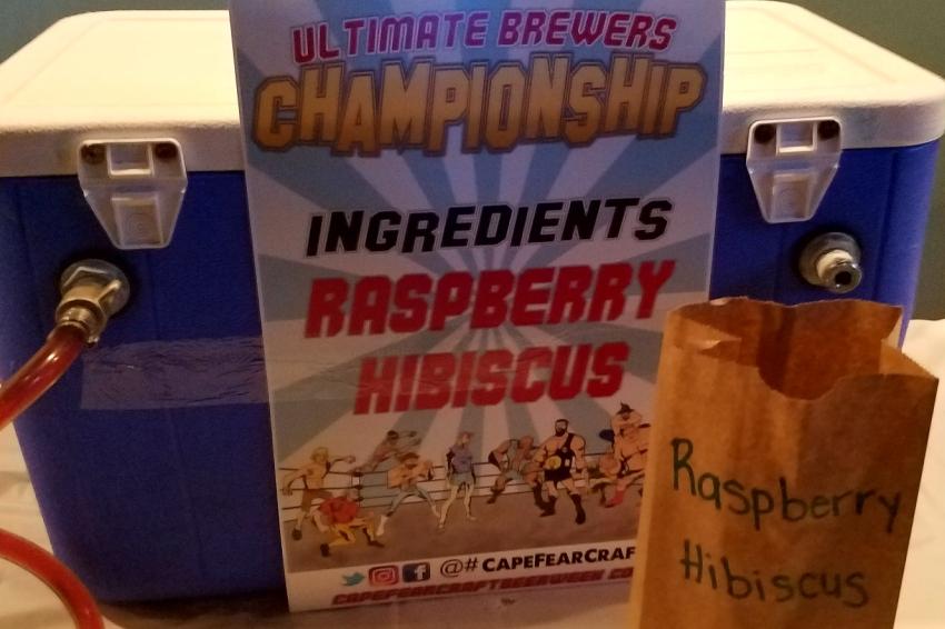 wrightsville beach brewery raspberry hibiscus gose