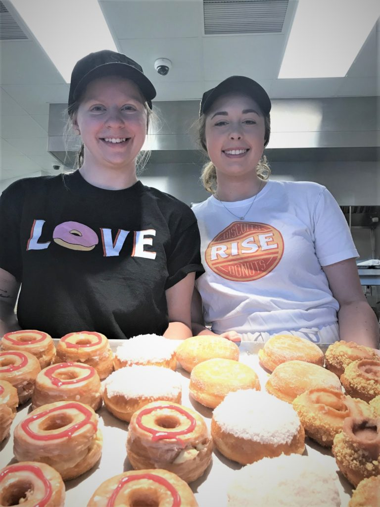 baking at rise biscuits and donuts