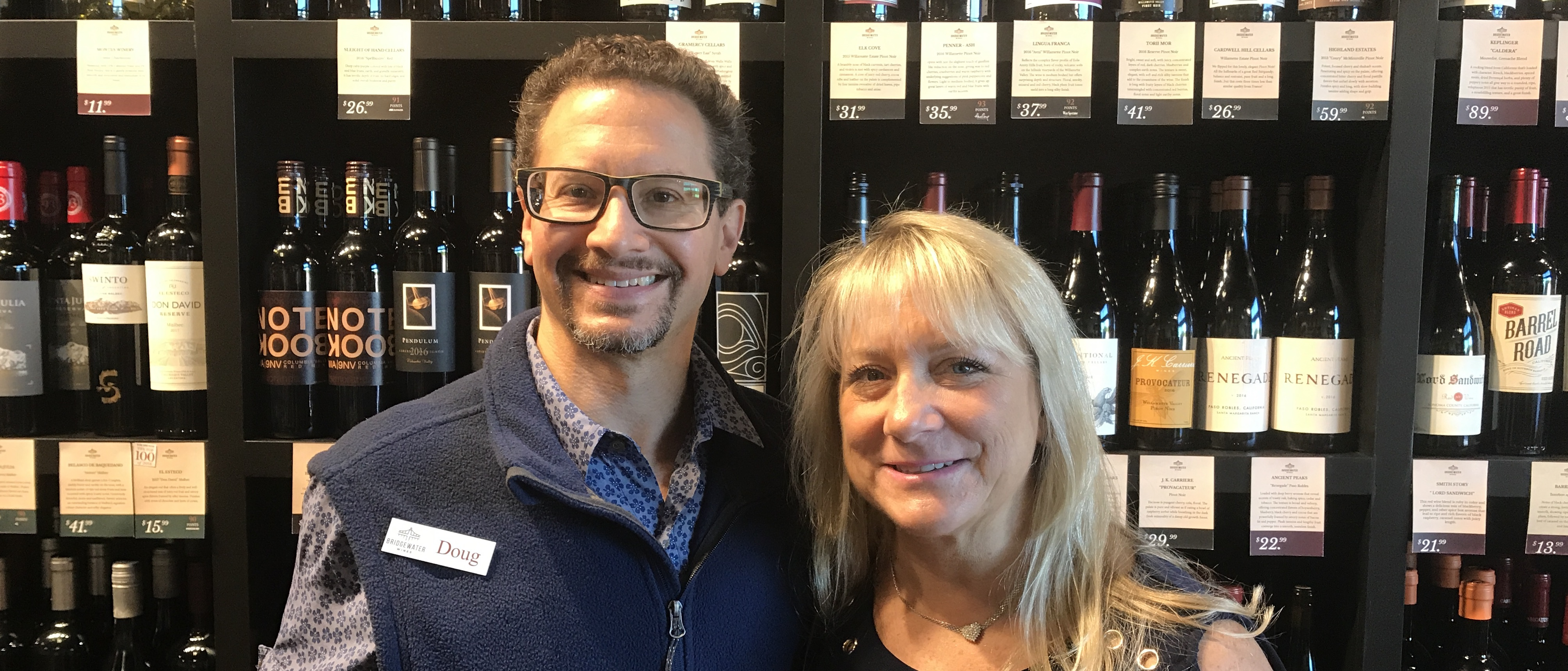 Doug and Susan Zucker, Owners | Bridgewater Wines