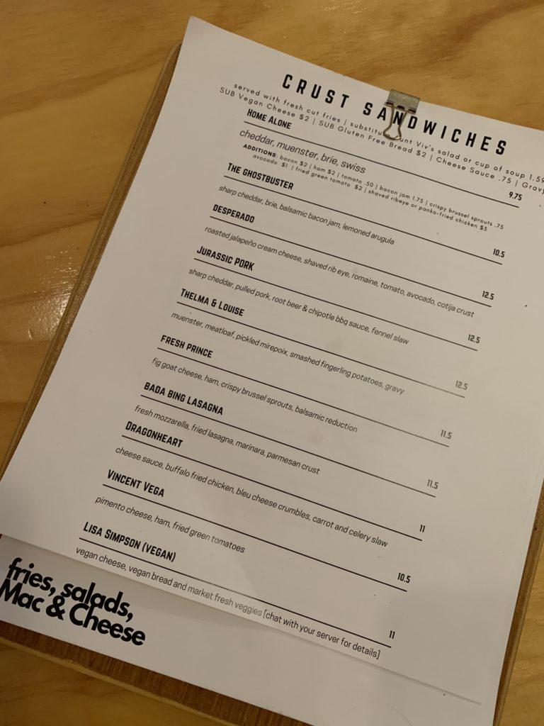 crust kitchen & cocktails