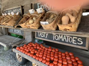 tasty tomatoes at The Veggie Wagon