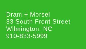 dram + morsel restaurant