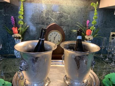 champagne at the verandas
