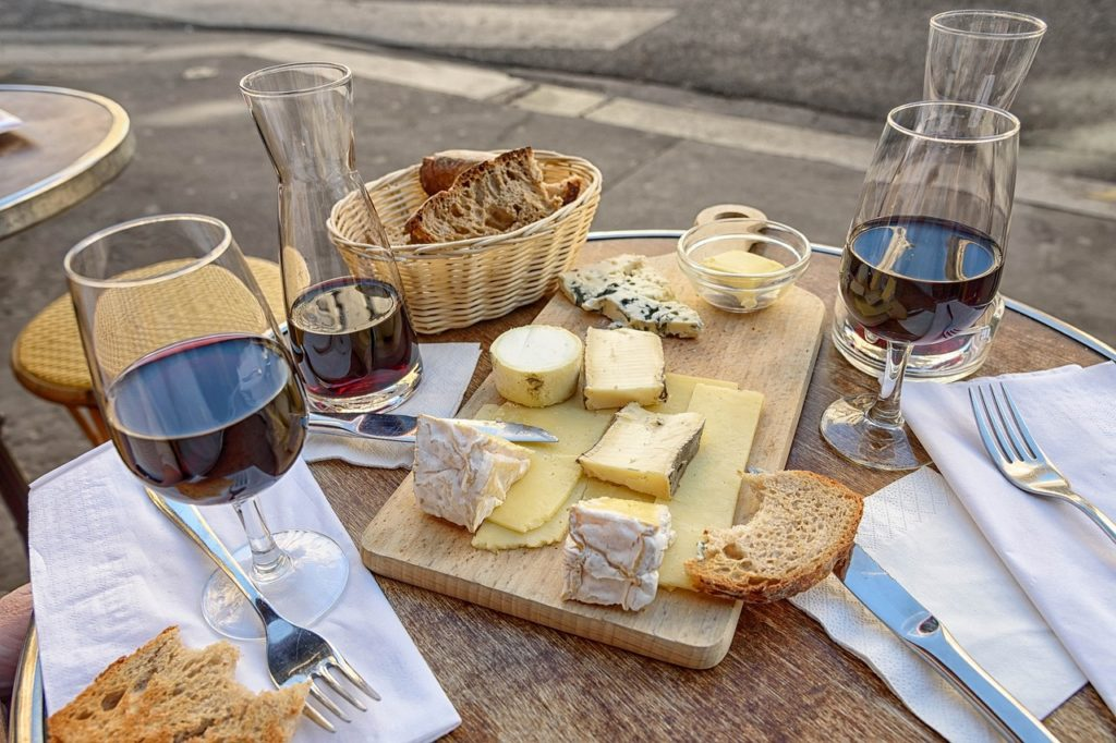 imbibe wine and cheese port city foodie