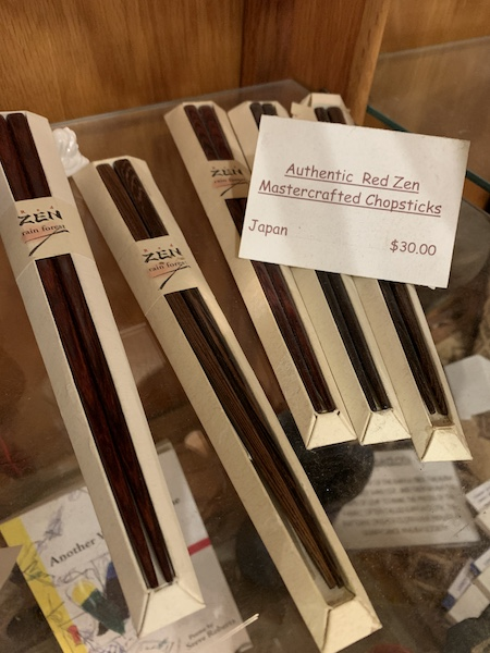 red zen chopsticks hostess foodie gifts