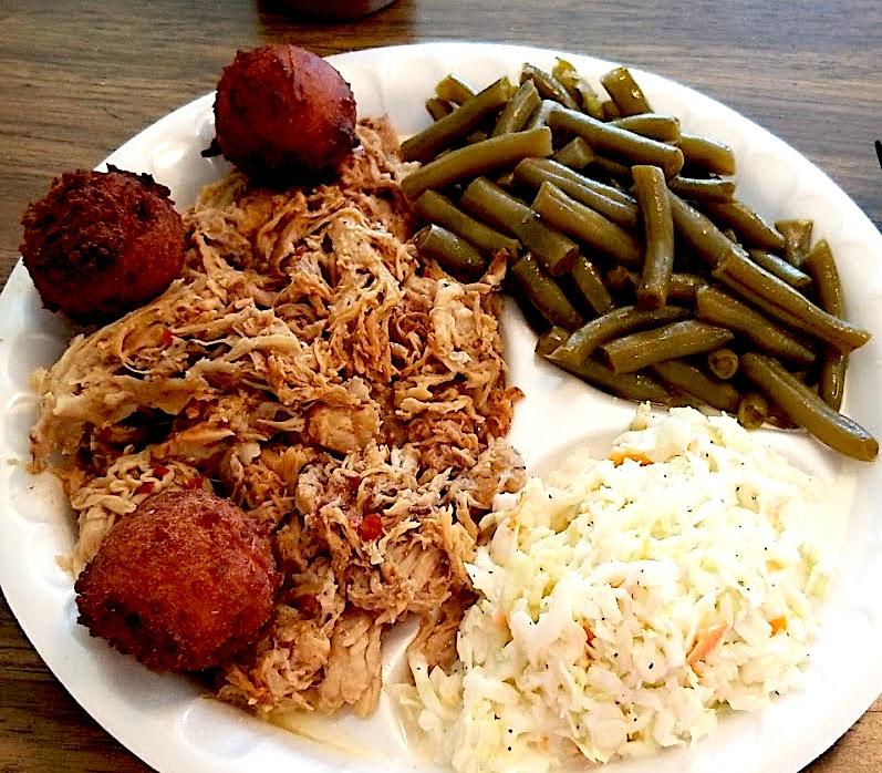 parchies barbeque plate